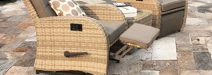 plastic rattan chairs