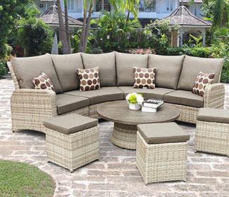 reclining garden sets